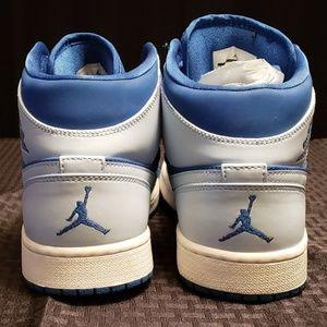 467f25adfa6 Nike Shoes   Air Jordan 1 Retro Mid Team Royal Ice Blue   Poshmark
